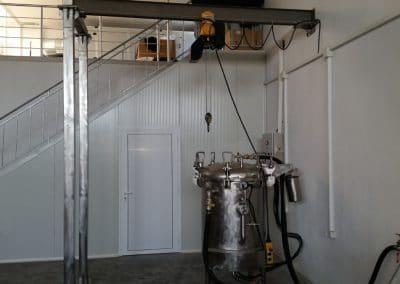 Автоклав 500 литра с телфер (1)