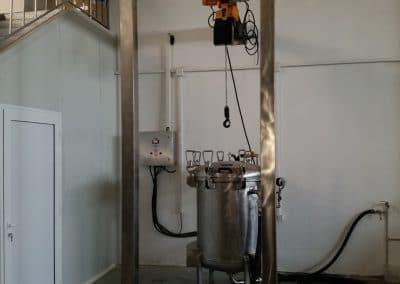 Автоклав 500 литра с телфер (2)