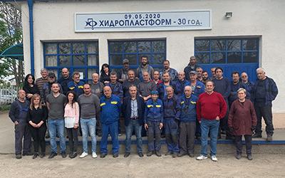 """30 години от създаването на """"Хидропластформ"""" ООД"""